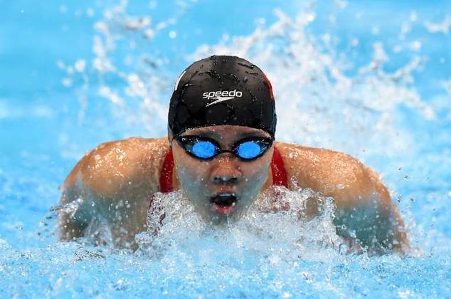 小组第一!深圳选手俞李妍游入东京奥运会200米蝶泳半决赛