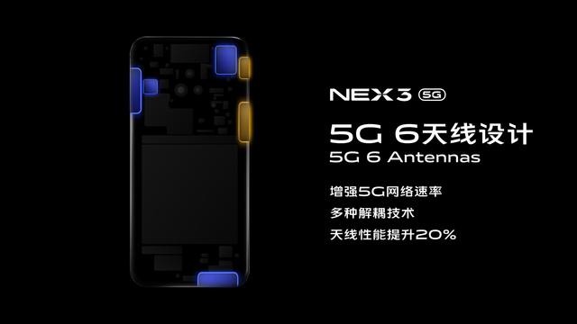 无界瀑布屏5G智慧旗舰 vivo NEX3发布