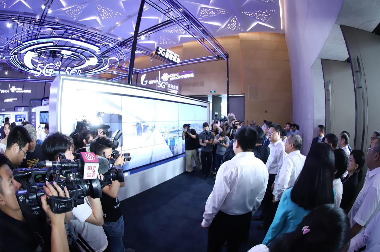 惊艳前海!深圳联通5G行业应用展盛大开展