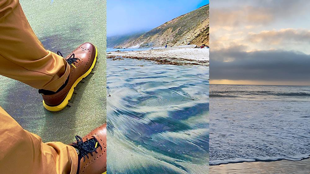 探秘全球唯一紫色沙滩 经历千百年的冲刷、研磨......