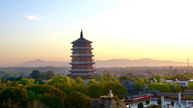 奇观天下 | 世界最高木塔屹立千年不倒,不用一钉一铆,堪称建筑奇迹