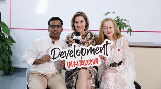 第三十四期   国际留学生:因为留学的机遇齐聚深圳,这里是青年人的大本营